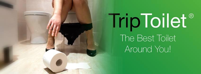 L'app per trovare la toilette più vicina e recensirla TRIP Toilet