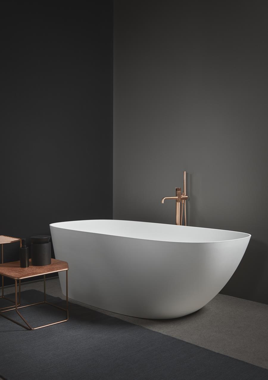 Vasca da bagno freestanding 12 modelli presentati al salone bagno 2018 - Vasca bagno design ...