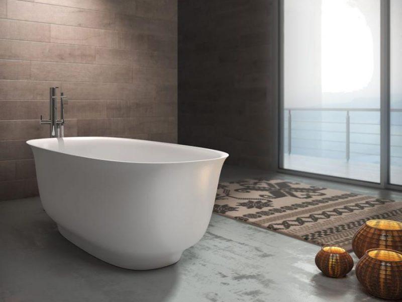 Vasca da bagno freestanding modelli presentati al salone bagno